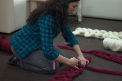 мастер-класс вязание из толстой пряжи