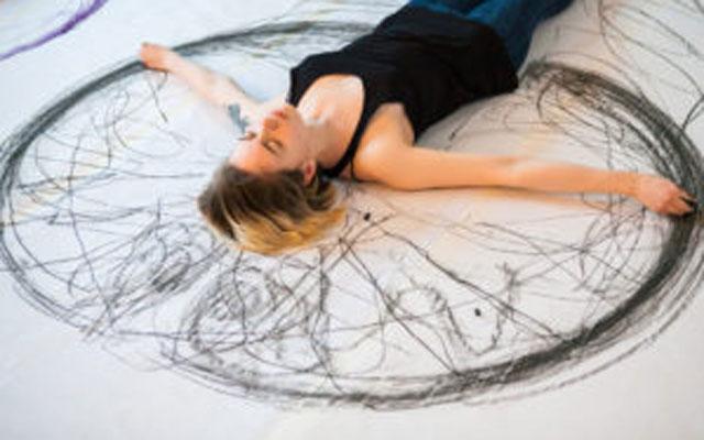 Мастер-класс по технике жестового рисования