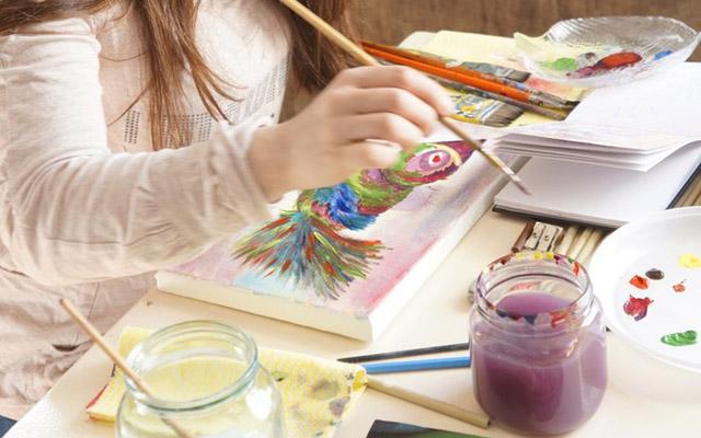 Мастер-класс по интуитивному рисованию