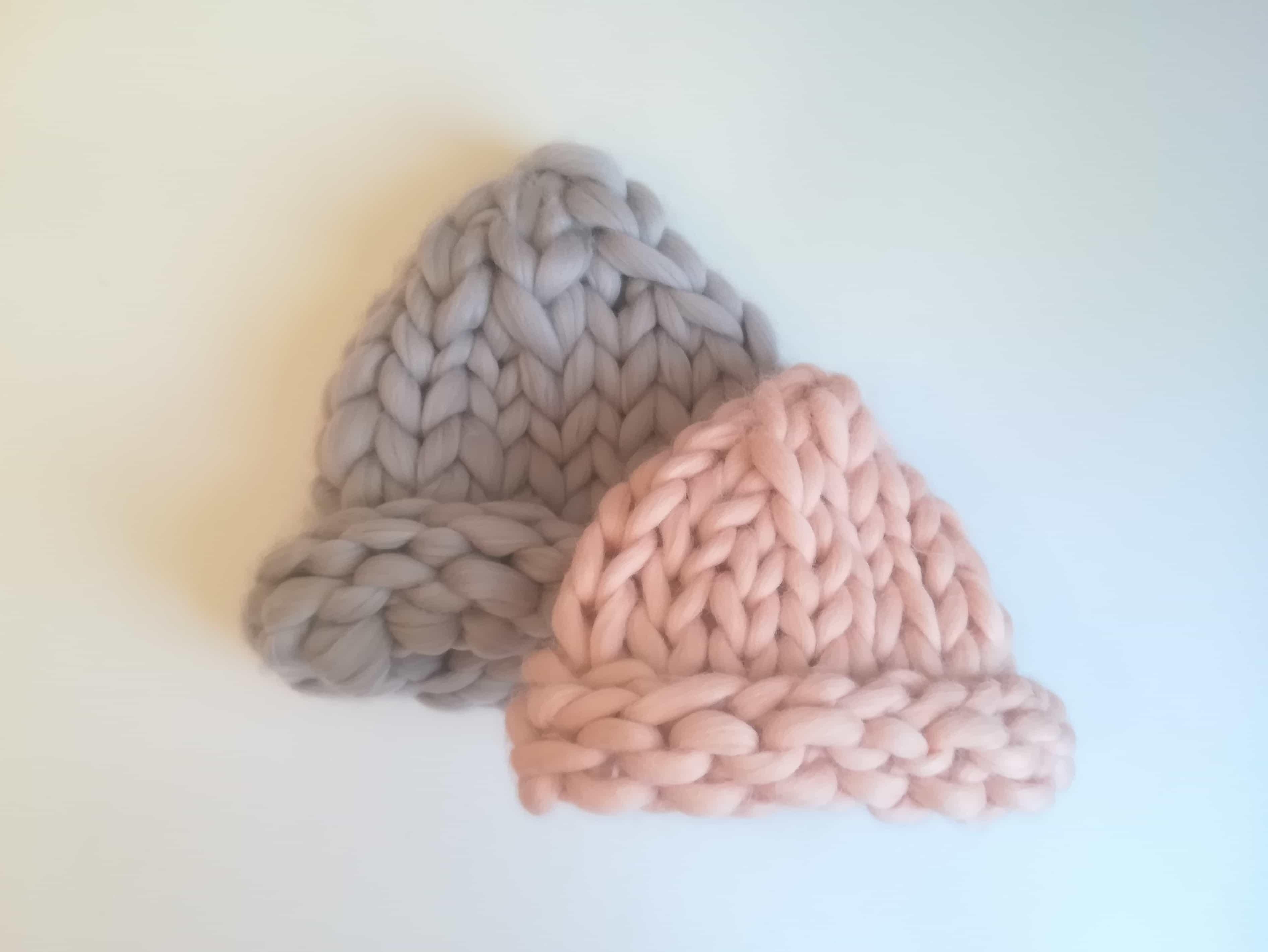 шапка хельсинки из толстой пряжи