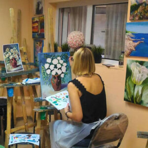Мастер-классы по живописи Цветы
