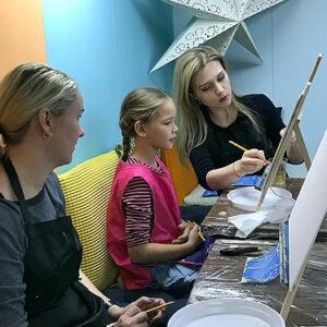 Семейные мастер-классы по живописи_Яна Близнюк